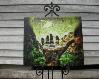 Reaching for Zion (Weeping Rock) - Signed