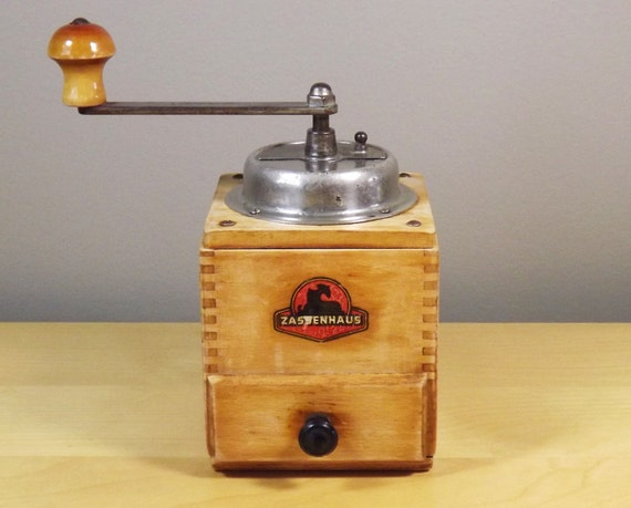 Coffee Grinder Box Mill Burr Conical Or Manual Spice Grinder