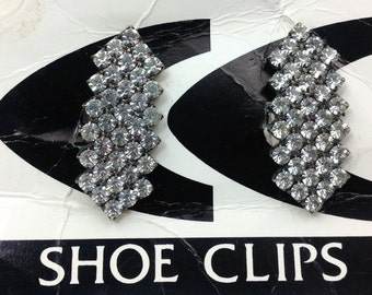 Rhinestone shoe clips made in France