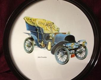 Vintage Decorative Tin Tray