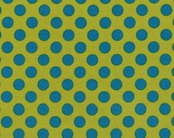 SALE, Ta Dot Caribe by Michael Miller Fabrics CX1492, Sold by the half yard
