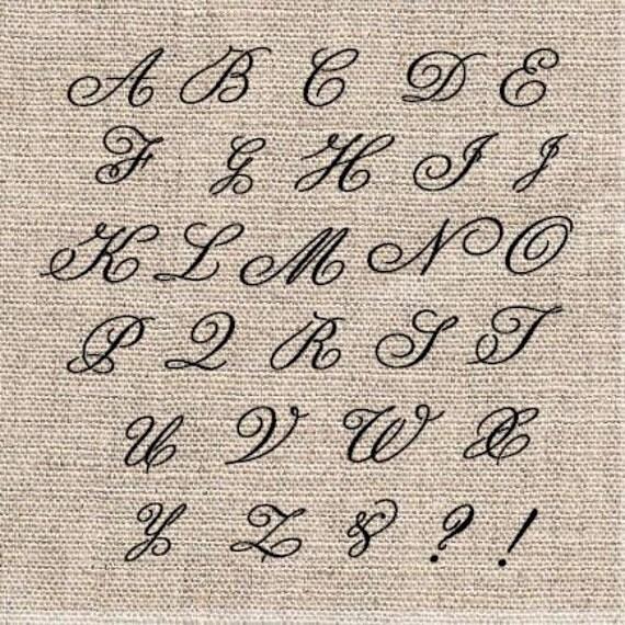fancy alphabet stencils il_570xn432872878_im40jpg