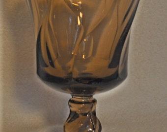 Vintage Smoke Jamestown  goblet.