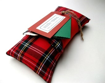 Hot Cold Pack Red Plaid
