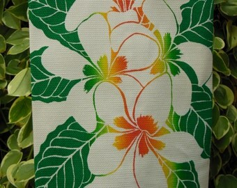 Hawaiian Plumeria Kitchen Towel