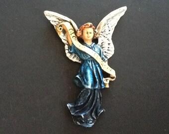 German Handpainted Wax Angel