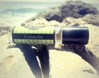 CORIANDER Roll on Perfume ~ Alcohol Free - Get 25% off your FIRST order, Birthday Gift