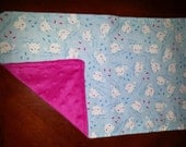 2 Whale Burp Cloths for Girls. Pink and/or white bumpy background. Unique Baby Gift.