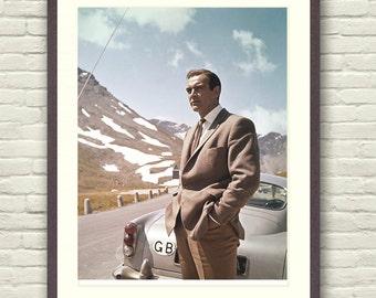 Sean Connery James bond Print