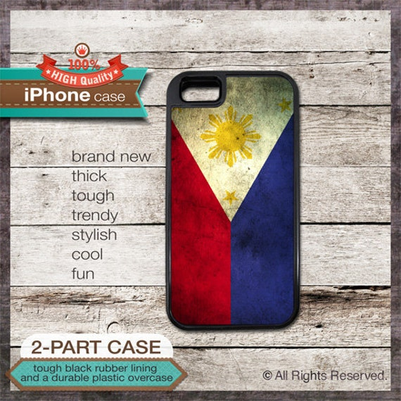 Philippines Flag - iPhone 6, 6+, 5 5S, 5C, 4 4S, Samsung Galaxy S3, S4