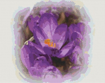 "Cross Stitch Chart ""Krokus 2"""