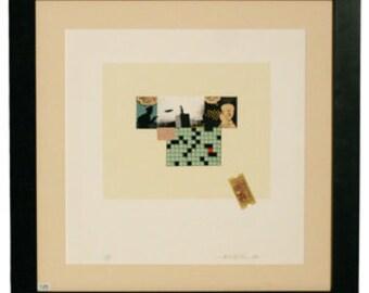 Michael McMillen 11 color Silkscreen Print 1991