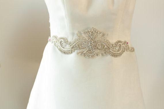 bridal belts and sashes wedding dress belt wedding belts and