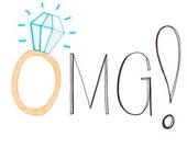 OMG - Engagement Congratulations card