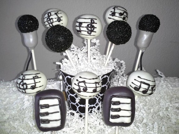 How To Make Microphone Cake Pops