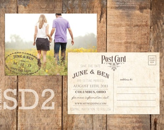 Save the Date Postcard (SD2)