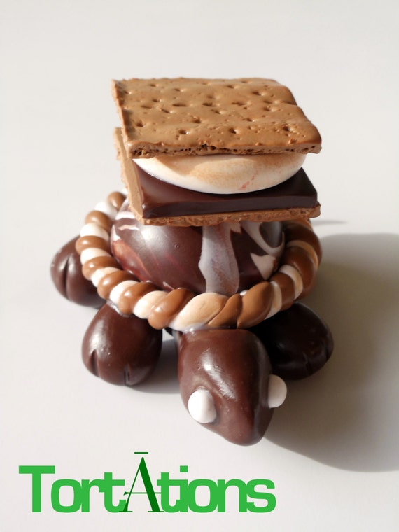 S'more Turtle Figurine