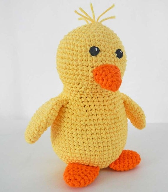 Amigurumi Baby Chicks : Crochet Duck Amigurumi Pattern Kawaii Baby Chick Toy ...