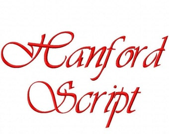 Handford Machine Embroidery Fonts 1442