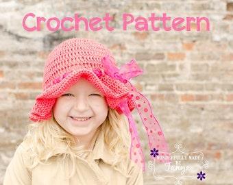 Crochet Pattern - Idalia Sun Hat
