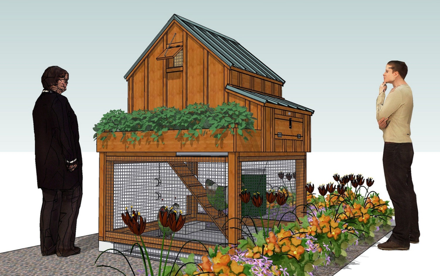 Free Chicken Coop Plans And Materials List