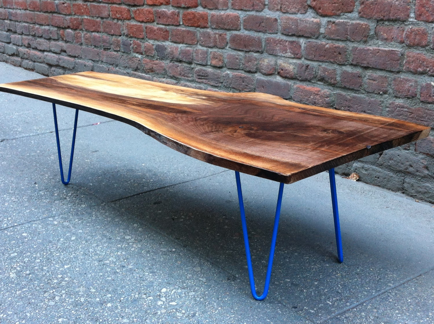 Sold Black Walnut Live Edge Coffee Table