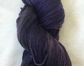 Grape Crush - Superwash Merino / Nylon Fingering  Purple  OOAK