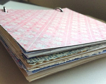 Sweet Lucky Dip Vintage Ephemera Journal