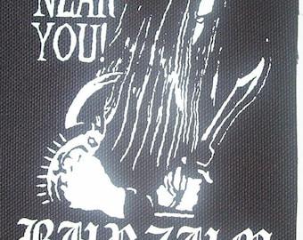 BURZUM church patch black metal Free Shipping