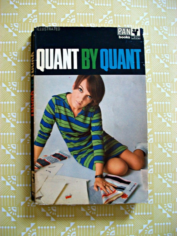 "Mary Quant 60s autobiography ""Quant By Quant"""