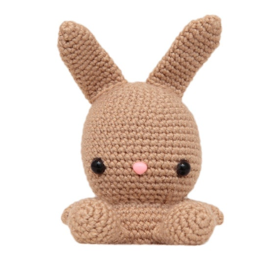 Fat Face Bunny Amigurumi Pattern