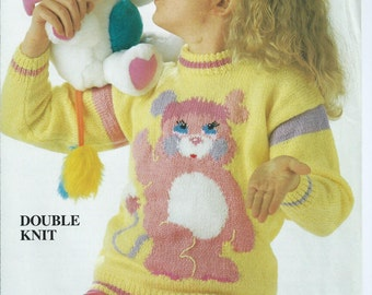Barney Dinosaur Knitting Pattern : Barney the dinosaur knitting pattern sweaters for children and adults dk or 4...