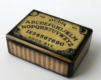 Ouija Board Trinket Box
