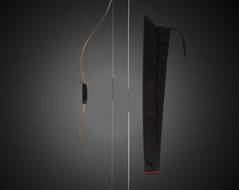 Recommend Handmade Traditional Bow 30-75Lbs Maple Laminated Chinese Longbow  Black Recurve CH8 Father's Day Gift