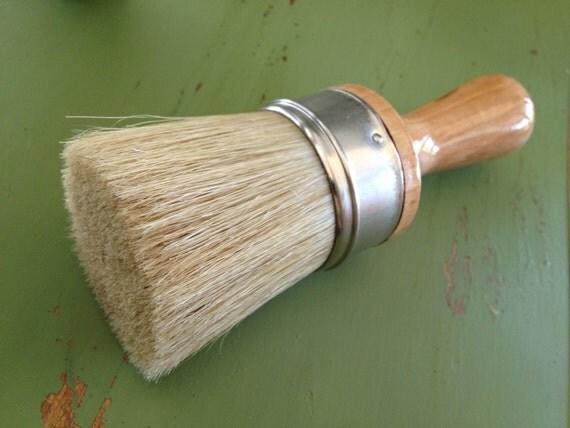 25% Off  --  Waxwell 2 inch Natural Horsehair Furniture Wax Brush