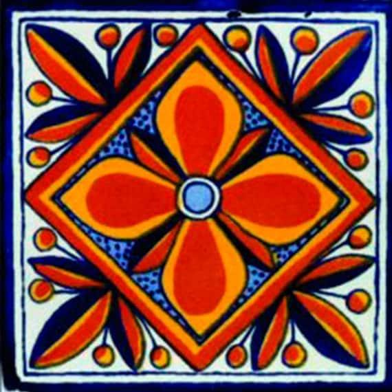 Items Similar To Mexican Tile Handmade Talavera TILE