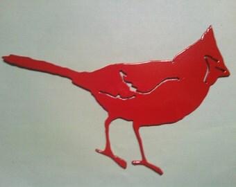 Cardinal Metal Art Bird