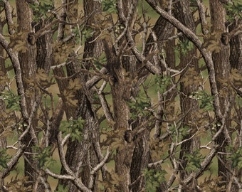 Half Yard - Norwegian Woods Camo - Cotton Quilt Fabric - by Whistler Studios for Windham Fabrics (W175)