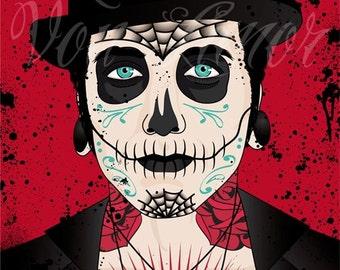 Día de los Muertos - Original Art