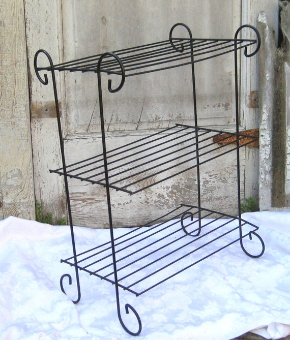Metal Shelves Wrought Iron Metal Shelves Outdoor Shelves