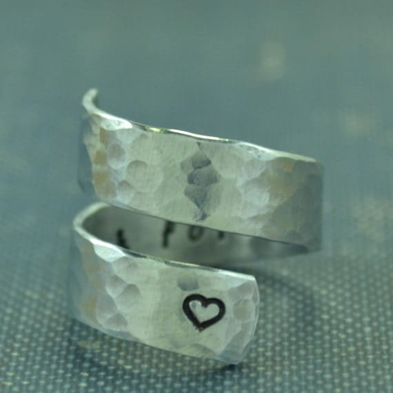 always and forever ring promise ring by thevillagegifts