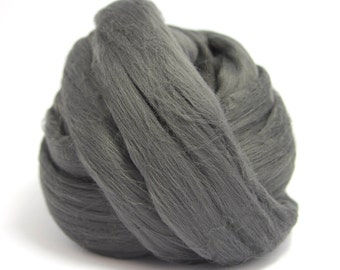 Black Diamond (Black Gold) Bamboo Top / Roving - Spinning Fibre / Fiber - Felting