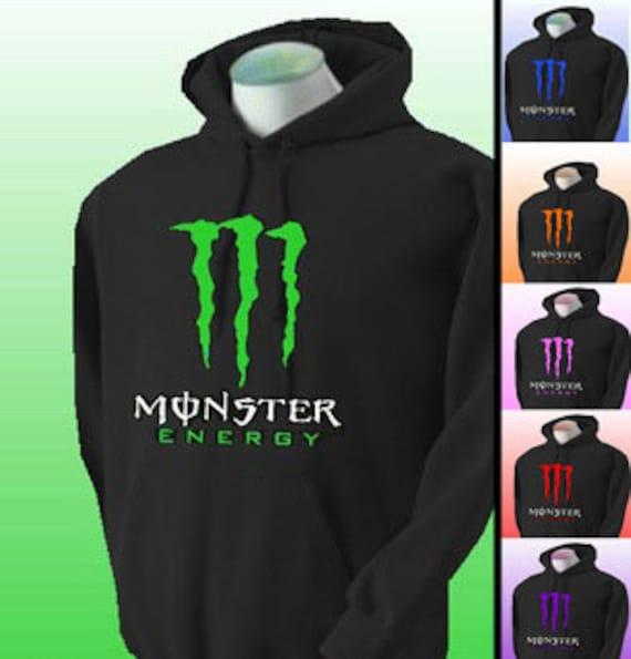 Monster energy hoodies