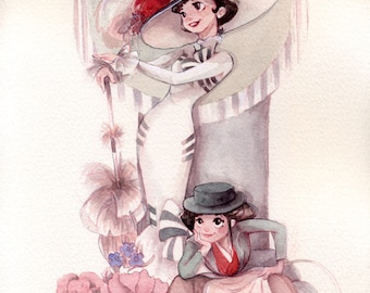 My Fair Lady by Esther Diana. A4 PRINT