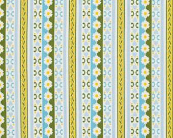 CIRCA Fabric by Jennifer Paganelli 1 Yard Fabric Bradlee in Blue Free Spirit