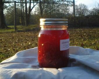 Strawberry Preserves, 3-16oz Jars, Homemade, Farm Fresh Strawberries