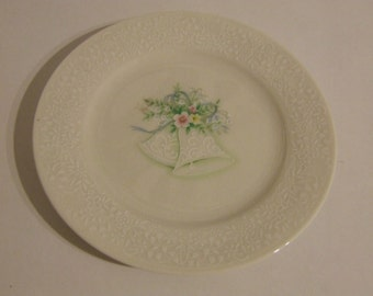 Vintage Noritake Wedding Bells  Plate