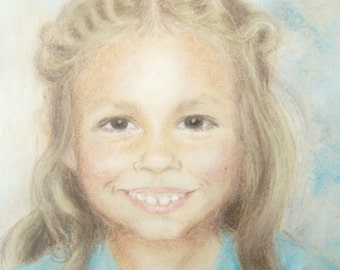 Commissions taken for a portriat of your son or daughter, in pastel.