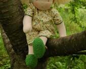 "Waldorf doll 16"" / 40cm - Flower (Virag)"