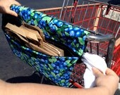 Grocery Bag Holder & Handlebar Cover for any Shopping Cart